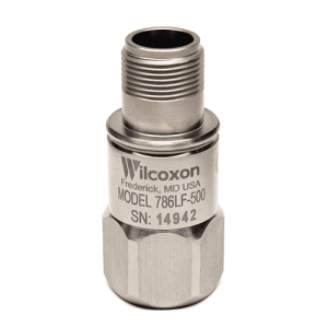 Wilcoxon low frequency, high sensitivity vibration sensor